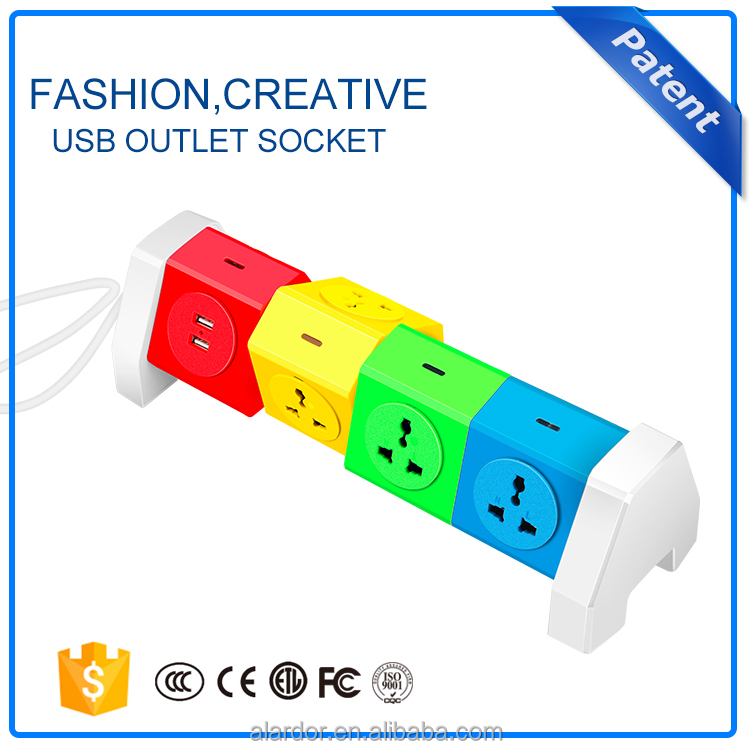 8gangs intelligent socket with usb smart power strip