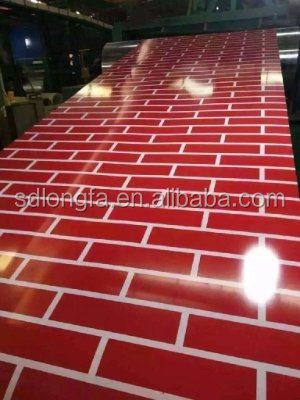 the marble color coated steel, color coated construction material