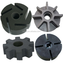 ISO9001 supply customized any size of carbon graphite rotor