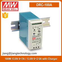 Mean Well 100W 13.8V DIN Rail Industrial Power Supply DRC-100A