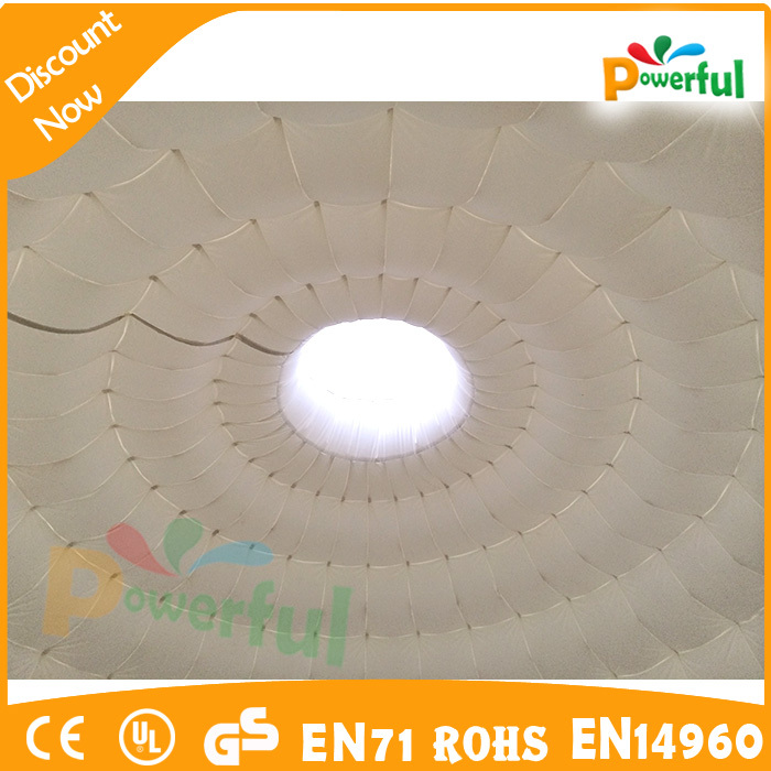Hot sale inflatable party tent inflatable igloo led for Interieur igloo