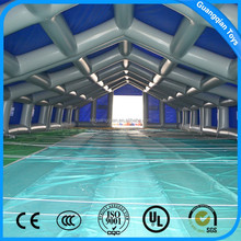 Guangqian Advertising Inflatable Big Tent With Swimming Pool For Outdoor Promotion Activity