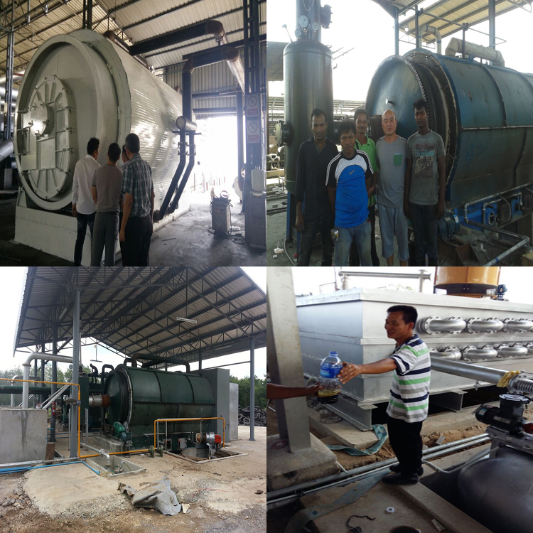 Best quality free installation running well waste tyre pyrolysis plant with High oil yield