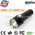 hand squeeze torc CREE L2 flashlight 1x18650 high power 1200LM