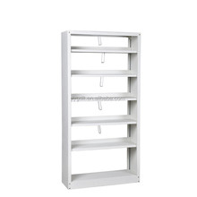 Double-Sided Double Column Library Furniture Steel Bookshelves