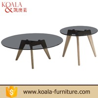 Factory Price Office Furniture Leaf Shaped Coffee Table