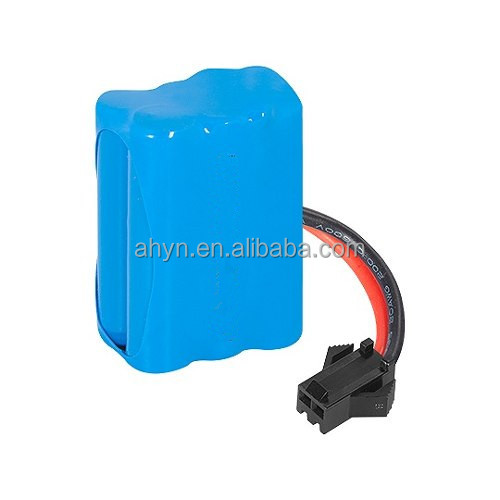 7.2V AAA 600mAh Ni-MH rechargeable battery pack with wire and connector for RC car