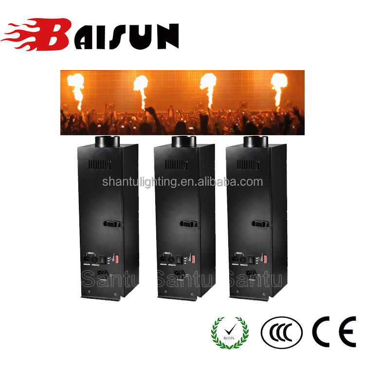 Guangzhou Factory Price China Stage 150W DMX Flame Fire Effect Machine