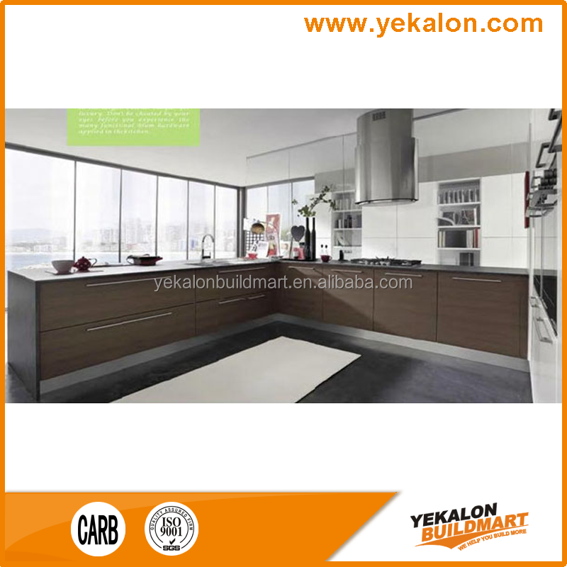 MDF Veneer kitchen cabinet