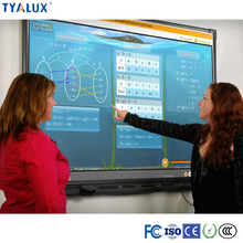 70 inch interactive touch monitor advertising board HD LCD smart tv office digital whiteboard for school