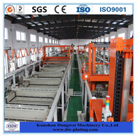 Acid galvanized equipment for bicycle spokes