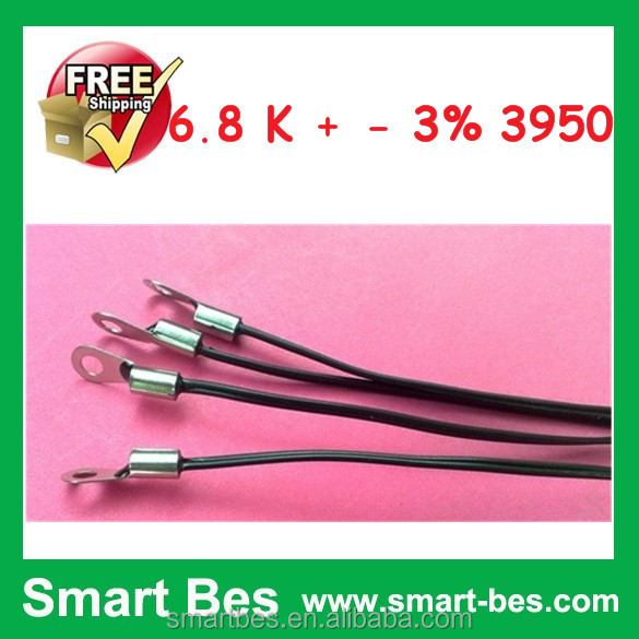 Smart Electronics 100pcs/lot Ntc temperature sensor 6.8 <strong>K</strong> + - 3% 3950 electronic components