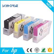 refill ink cartridge compatible for HP with auto reset chip