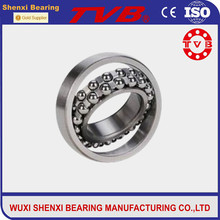distributor 2320 made in China machined brass high precis low noise self-aligning ball bearing for motor running capacitor