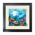 Moving effect 3D dolphine picture/hot sale 3d animation animal poster