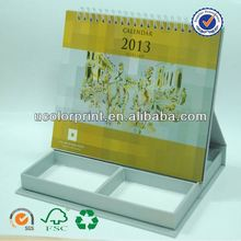 ucolor customize table calendar with note pad