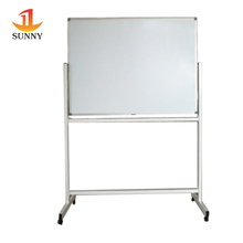 Aluminium frame free stand dry erase magnetic white board