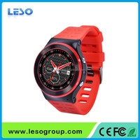 Heart rate 3G Android V5.1 smart watch phone with GPS and wifi