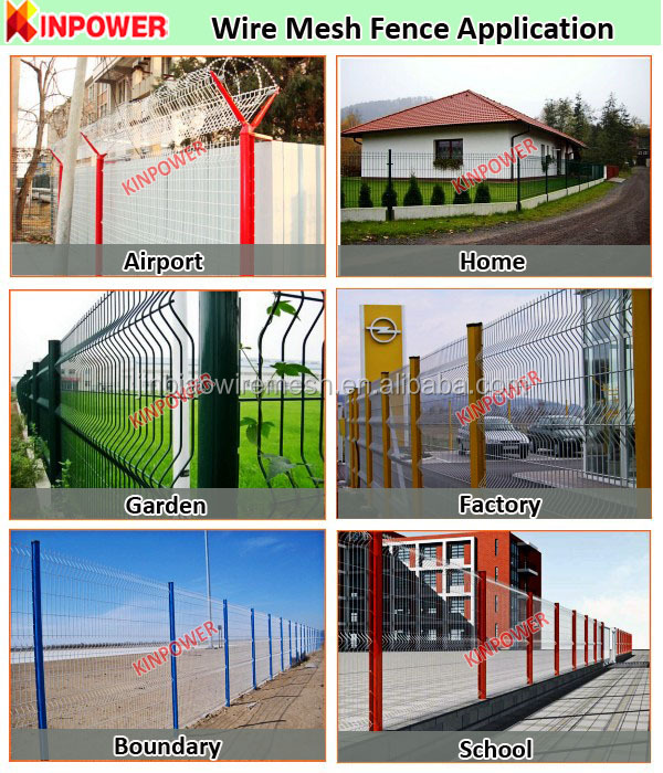 China Supplier ornamental wrought iron fencing/ wire mesh fence for sale
