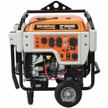 Generac XP10000E - 10,000 Watt Electric Start Professional Portable Generator