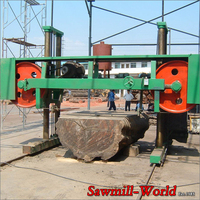 machines for woodwork- automatically large size timber cutting saw of fiji