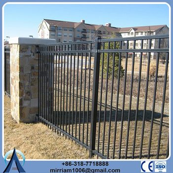 Wholesale China Import galvanized steel tubular fence for garden