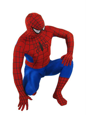 The Ultimate Adult Spiderman Costume - Full Body Zentai 100% Lycra Body Suit
