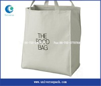 100% nature custom organic cotton tote bag for shopping wholesale