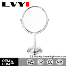 LY-2202 cheap price frameless dressing table cosmetic mirror