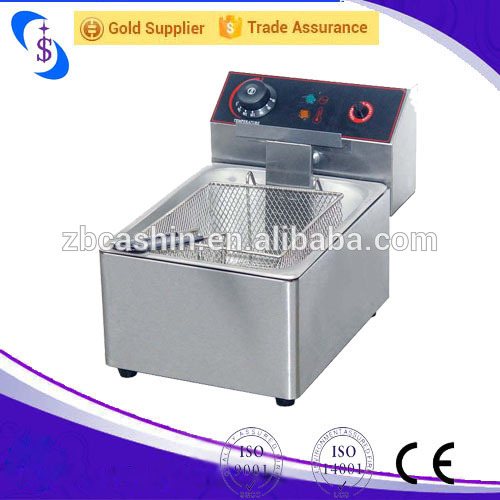 2-Tank 2-Basket Deep Fryer Commercial Fried Chicken Counter top Electric