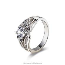 Comercio al por mayor anillo wedding, Pplatinum chapado en anillo de la joyería turca