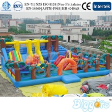 Jungle Giant Inflatable Bouncy House Fun City Playground For Sale