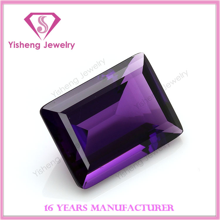 Raw Loose Gemstone Manufacturer Faceted Hot Sale Amethyst Stone Prices