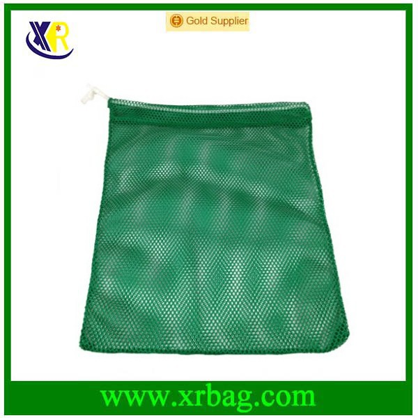 colorful inexpensive nylon drawstring mesh bag