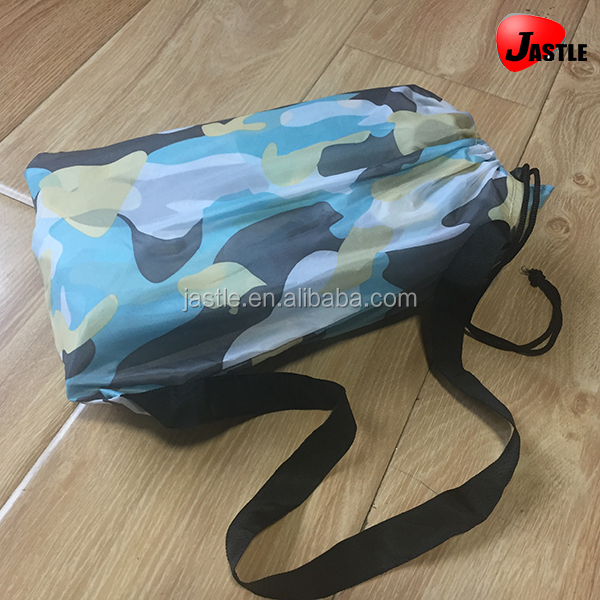 Customized Color Lazy Hangout inflatable sofa air sleeping bag