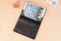 Universal ABS Detachable 7inch Protective leather case for the iPad with Keyboard Built-in Bluetooth