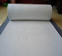 Pure white wool felt