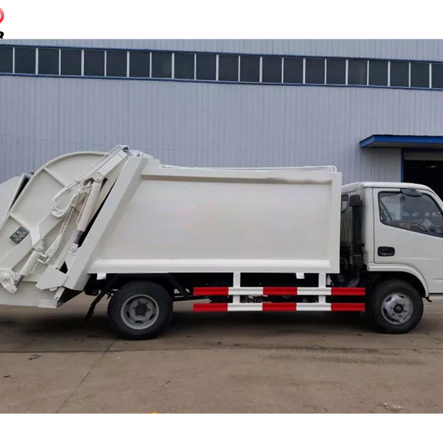 3000-6000 Liter compression garbage truck ,dustcart, waste collection truck for sale