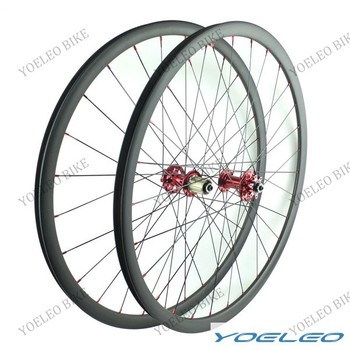 2016 Yoeleo 25mm Depth,30mm Width Hookless Version,29er Carbon Fiber Mountain Bike Wheels **