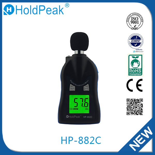 HP-882C Novelties Wholesale China Airflow Tester Digital Sound Level Meter