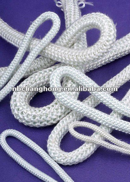 Fiberglass insulation rope braided packing knitting rope for seling machine