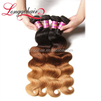 Two Tone Wigs 30 Inch Peruvian Hair 1B 27 Ombre Braiding Color Hair Body Wave Hair Weft wigs For Black Women