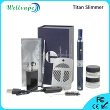 New generation good quality snoop dogg titan slimmer dry herb vaporizer smoking pipe