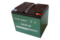 EVF Series VRLA Gel Battery for Electric Vehicles, 12V 48Ah at 3hr rate
