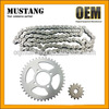 Wholesale Cheap Motorcycle Spare Parts 428 41T 14T 104L Chain And Sprocket Kits