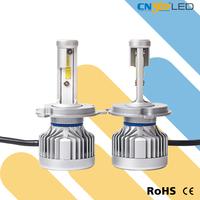 Newest style LED head lamp DC9V-32V h4 led lights car led headlight set