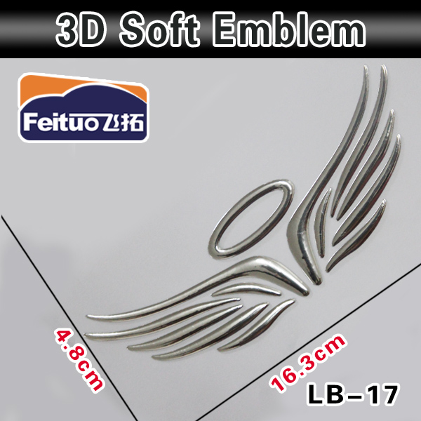 Auto 3D Emblems Dealer Sticker Body Decorative For Cars
