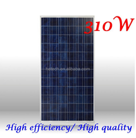 Poly solar panel in china 310watt placas solares