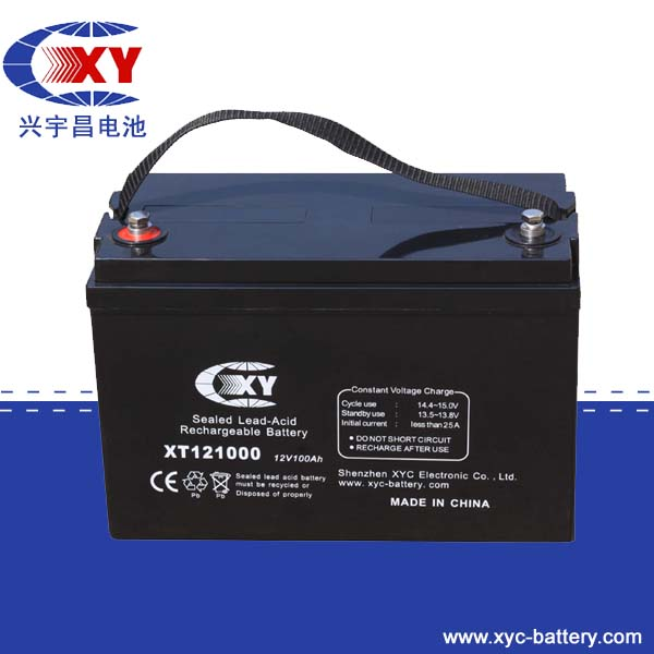 12V100Ah high container lead acid battery