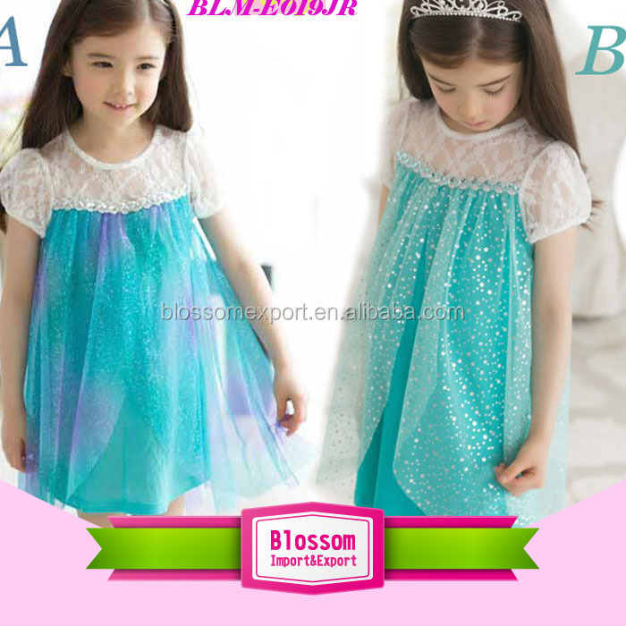 FROZEN DRESS kids frozen elsa dress wholesale frozen dress elsa